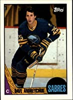 1987 Topps Hockey Card (1987-88) #3 Dave Andreychuk Near Mint/Mint