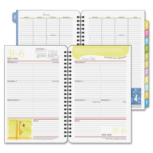 Her Point Of View Weekly - FDP35928 - Franklincovey Her Point of View Wirebound Weekly Planner Refill