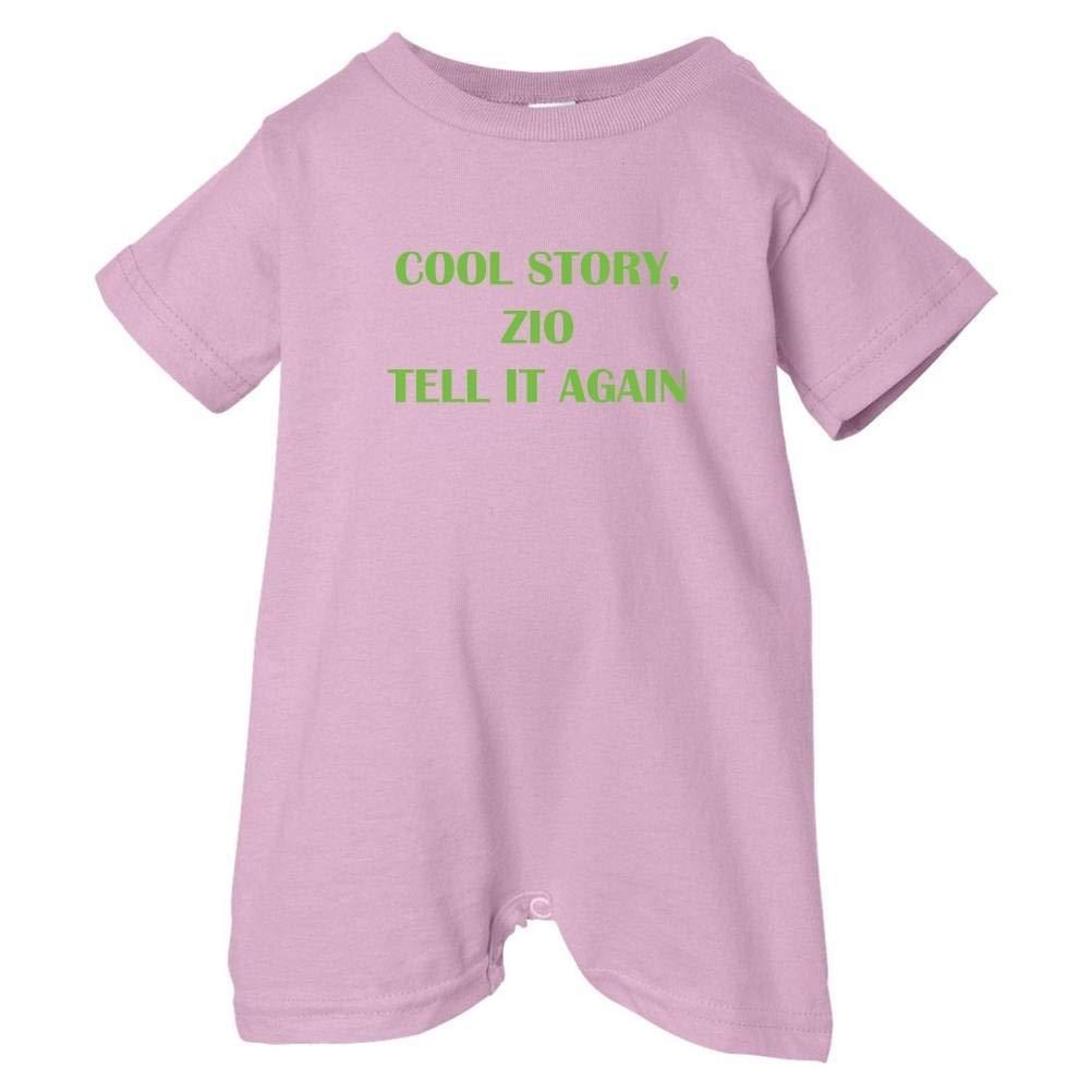 So Relative Unisex Baby Cool Story Zio Again T-Shirt Romper