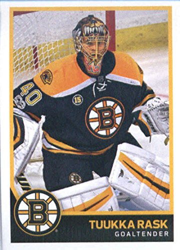 2017-18 Panini Stickers #15 Tuukka Rask Boston Bruins Hockey Card Bruins Hockey Card