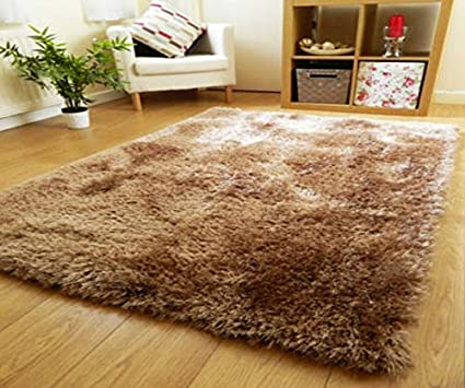 Buy Smiling Home Solid Modern Carpet Beige Polyester Blend 22 X 55 In Online At Low Prices In India Amazon In