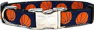 product image for Diva-Dog 'Basketball' Custom Engraved Dog Collar