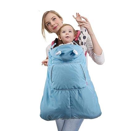 per Mochila Portabebés con Capucha Mantas Térmica para Bebés Mantas para Carro Bebés Delantal Infantiles Saco