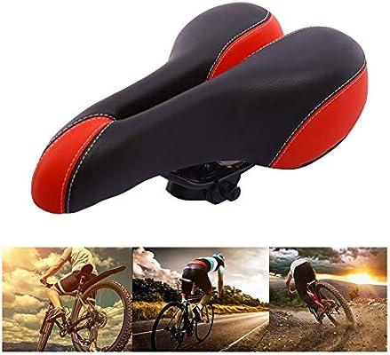 CXQA Sillín de Bicicleta Suave, Asiento de Bicicleta cómodo con ...