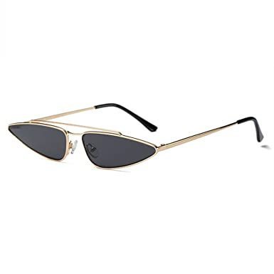 838c0153fff4 UVLAIK Vintage Cat Eye Sunglasses Women Brand Designer Small Frame Sun Glasses  Retro Black Eyewear Fashion