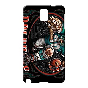 samsung note 3 Durability New Arrival trendy phone carrying skins miami dolphins nfl football