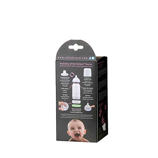 Amazon.com : Botella NxGen recién nacido Nurser bebé, rosa, 5.5 ...