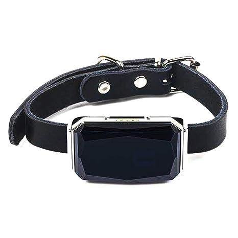 GPS rastreador de mascotas, rastreador inteligente GPS para perro, gatos, dispositivo de seguimiento