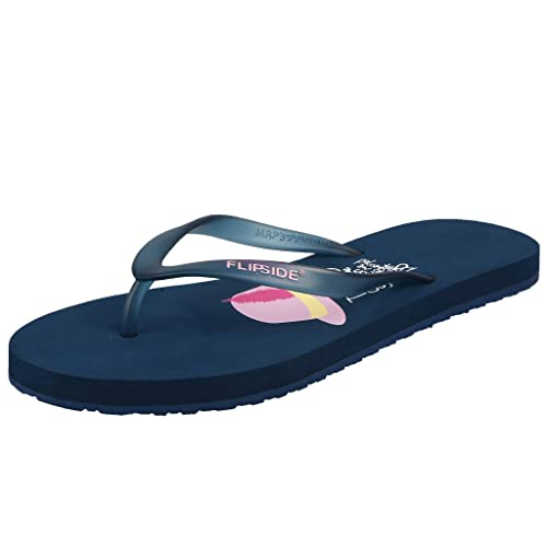 e19d6357415e0 FLIPSIDE Womens Vacation Teal Flipflops  Buy Online at Low Prices in India  - Amazon.in