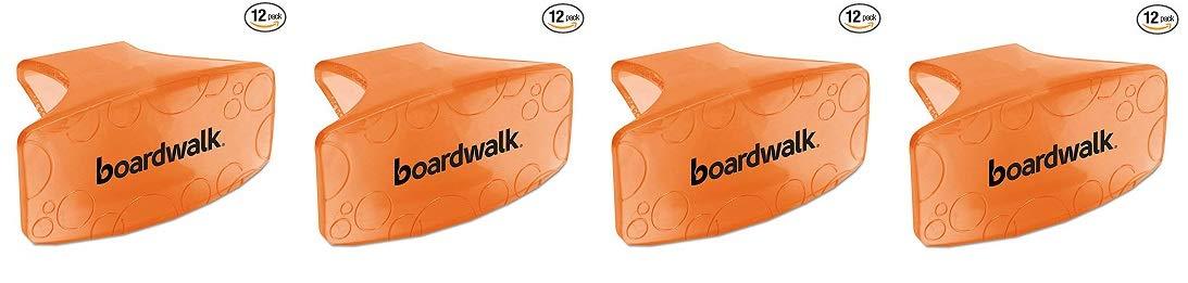 Boardwalk CLIPMAN Bowl Clip, Mango Scent, Orange (Box of 12) (4)