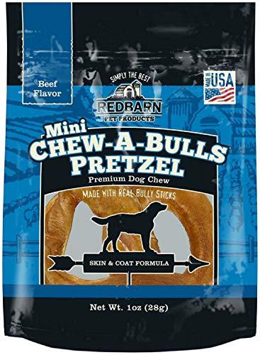 (Red Barn Chew-A-Bulls Mini Pretzel Beef 10oz (10 x 1oz))
