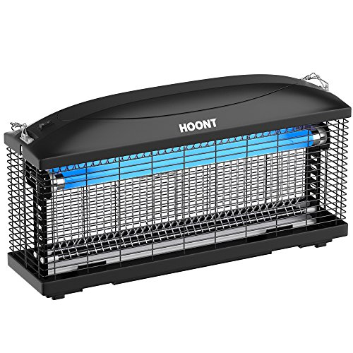 Hoont lectric Indoor Zapper Trap Catcher - Protects 6,000 Sq. Ft/Fly and Bug, Mosquito Insect Killer...