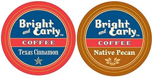 96 ct (48)Native Pecan and (48)Texas Cinnamon Coffee for Keurig single Cup Brewers Keurig 2.0