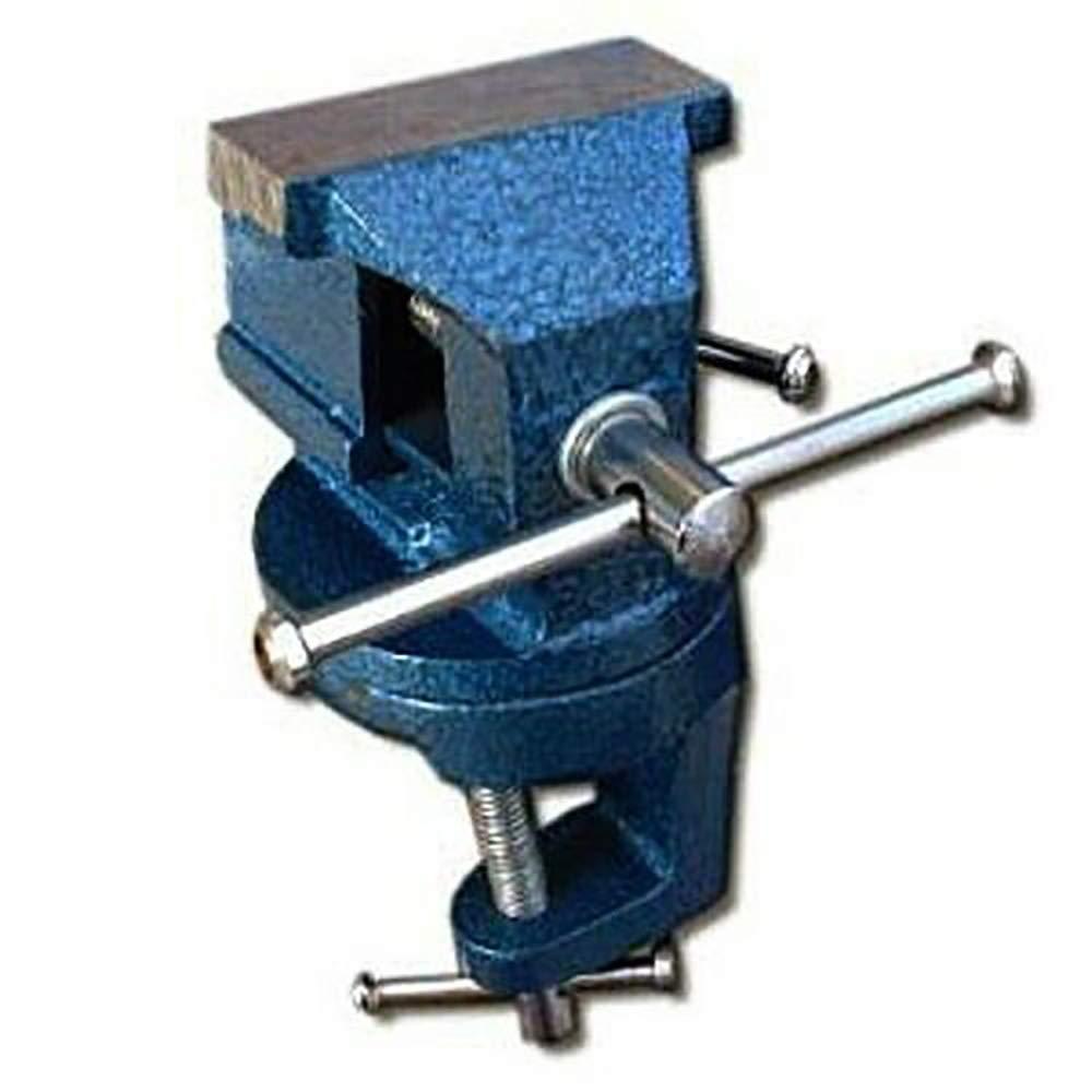 Mini abrazadera de 60 mm en base giratoria de acero para mesa de ...