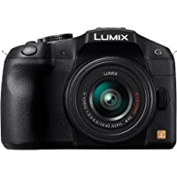 Panasonic Lumix G Series DMC-G6KK Mirrorless Digital Camera with 14-42mm II Lens Kit (Black)