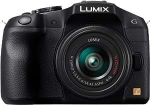 Panasonic Lumix G Series DMC-G6KK Mirrorless Digital Camera with 14-42mm II Lens Kit (Black)