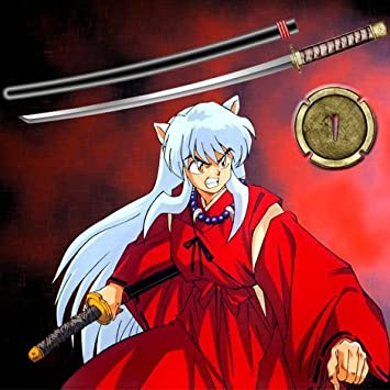 Inuyasha Untransformed Tetsusaiga Japanese Samurai Katana Anime
