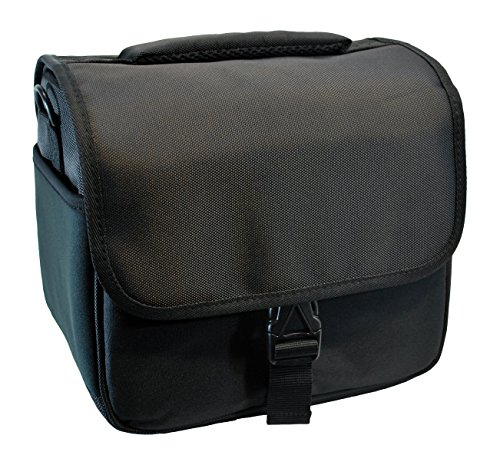 Designer Black DSLR Camera Bag by Hannon