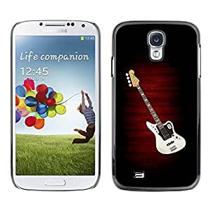Be Good Phone Accessory // Dura Cáscara cubierta Protectora Caso Carcasa Funda de Protección para Samsung Galaxy S4 I9500 // Guitar Music Creation Art Drawing Pop Culture