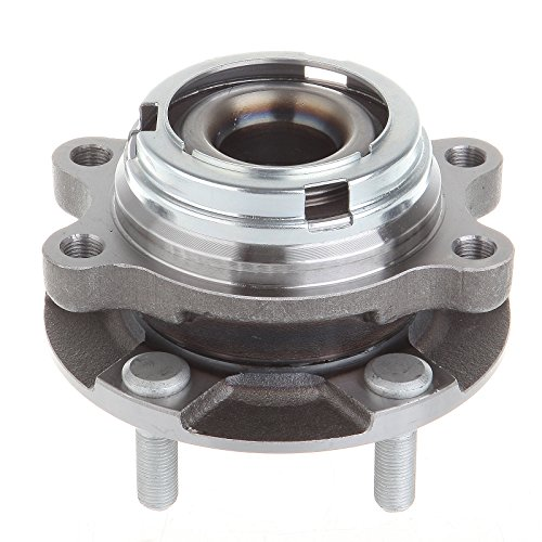 Front Engine Bearing (ECCPP Front Left or Right New Wheel Hub and Bearing Assembly for Altima 2.5L Engine 5)