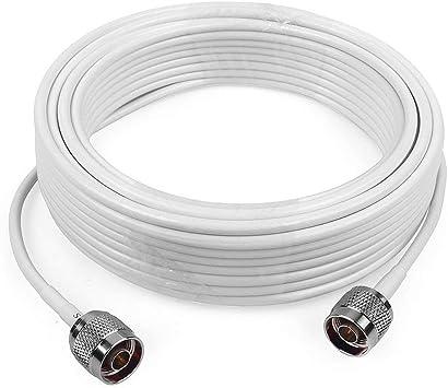 3D-FB Cable coaxial de Baja pérdida Cable de Extension 15 Metros ...
