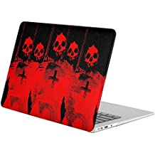 For Apple Macbook Pro 15.4 Inch + Retina Display [Model A1398 (No CD-ROM)]( Fantasy Satan Satanic) , Matte Rubber Coated Soft Touch Plastic Hard Case