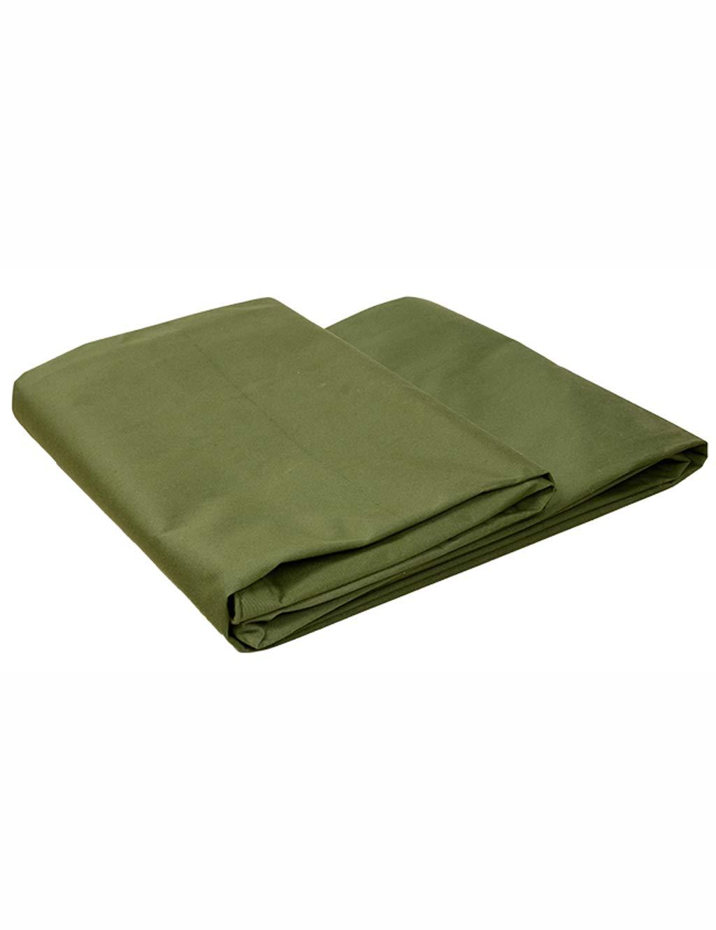PIPIXIA Toile de bÂche imperméable résistante avec des rondelles pour des tentes de Voiture dans diverses Tailles  2M X 4M