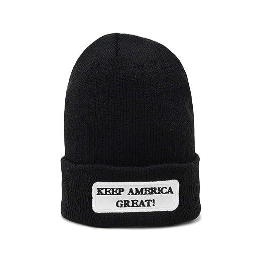6786e2d42 Amazon.com: KKMKSHHG Keep America Great Beanie Men Women - Unisex ...