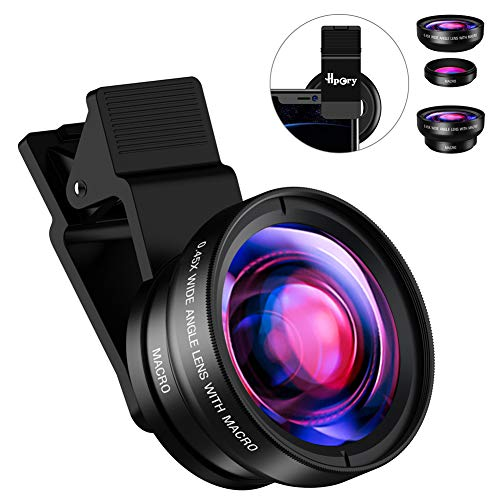 Hpory Phone Lens Kit Wide Angle...