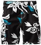 Kanu Surf Little Boys' Oahu, Black, Medium (5/6)