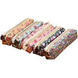 Storage Pouch Cosmetic Bags,NORTHERN BROTHERS Large Capacity Pen Holder Pencil Case Stationery Bag Case Flower...