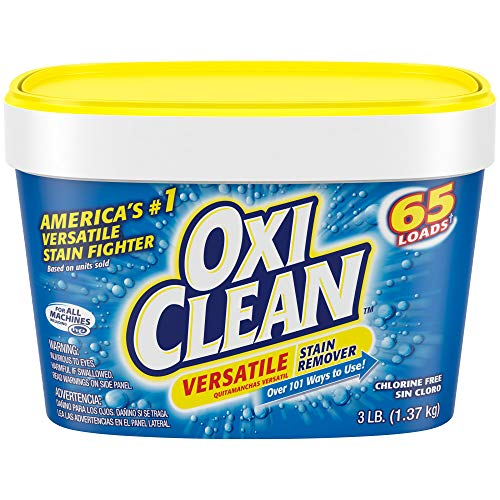 OxiClean Versatile Stain Remover Powder, 48 Oz (Vanish Oxi Action Crystal White On Colours)