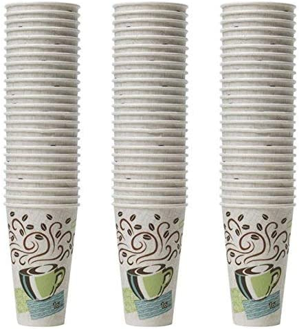 Dixie PerfecTouch Insulated Paper Cups, Coffee Haze (Various Sizes) Sam's Club