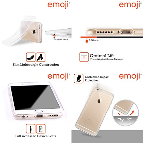 Officiel Emoji Cligner De L'oeil Smileys Étui Coque en Gel molle pour Apple iPhone 5 / 5s / SE