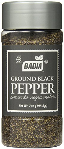 Badia Black Pepper Ground, 7-Ounce (Pack of 6) by Badia