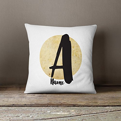 Custom throw pillow personalized pillow case company logo throw pillow name wedding gift office decorative pillow unique home warming gift Home décor