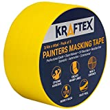 NEW: Painters Tape 180YRD Roll for Pro Painting [CLEAN...