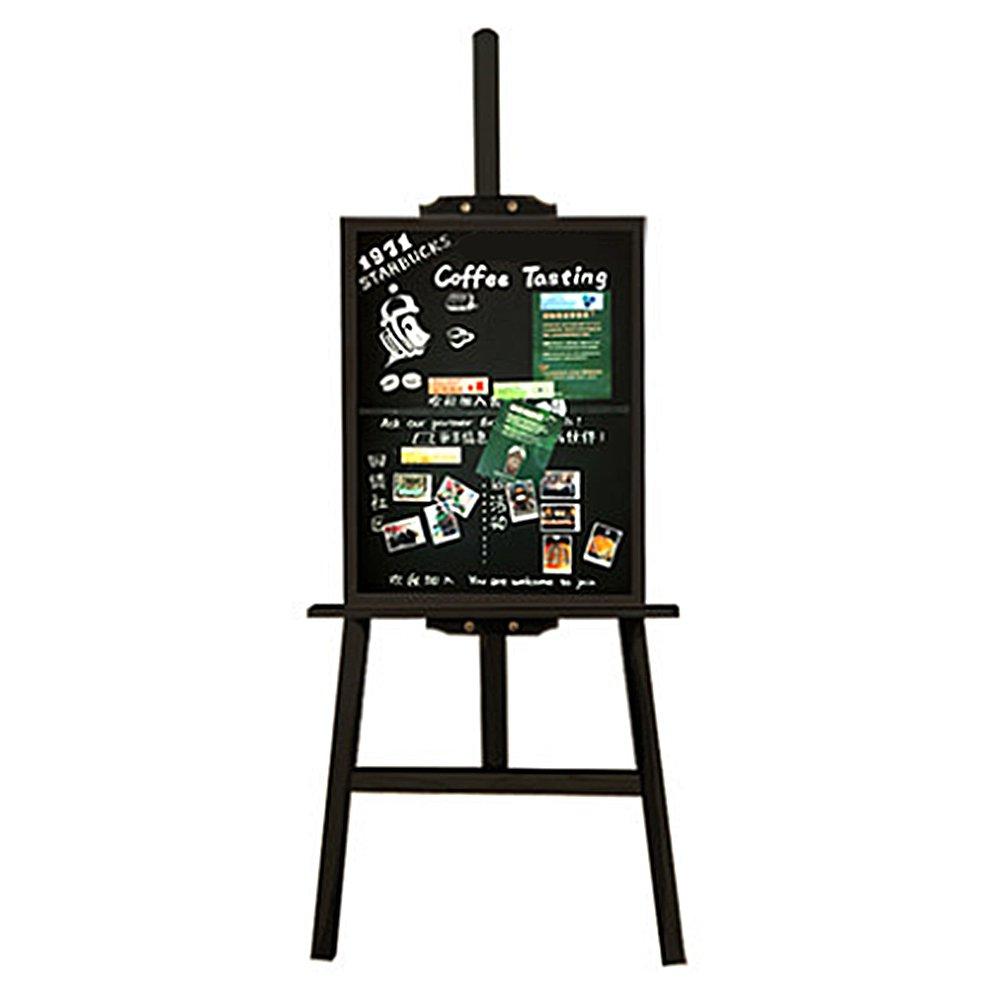 Struttura in Legno H Telaio Cavalletto con Lavagna per Negozio Ristorante Educazione Bambini (50x 70cm) Missboard