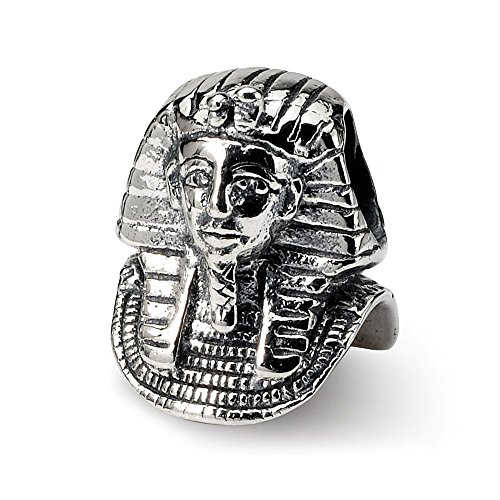925 Sterling Silver Charm For Bracelet Pharaoh Bead Travel Fine Jewelry Gifts For Women For Her -
