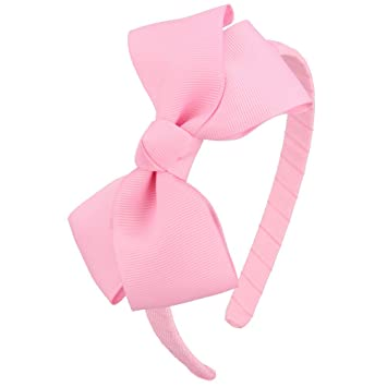 Rose Pink Head wrap Bow