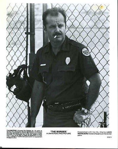 Jack Nicholson The Border Original 8x10