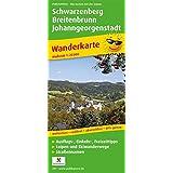 Schwarzenberg, Breitenbrunn, Johanngeorgenstadt: Wanderkarte mit Ausflugszielen, Einkehr- & Freizeittipps, wetterfest, reissfest, abwischbar, GPS-genau. 1:25000 (Wanderkarte / WK)