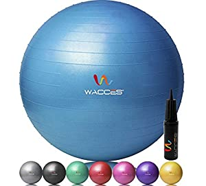Wacces Fitness and Exercise Ball
