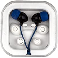 Seal Shield SSEB1 Seal Buds Antimicrobial Waterproof Ear Budswithout Microphone - Retail Packaging - Blue/Silver