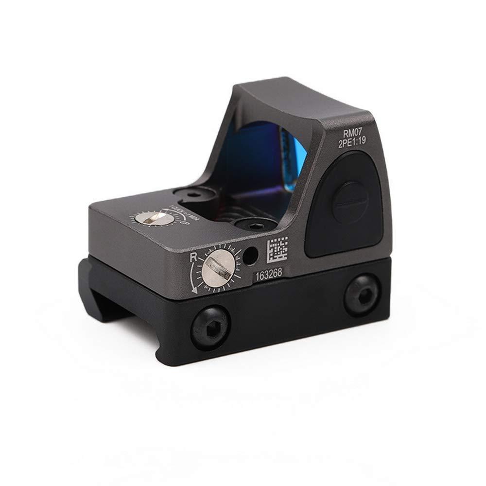 einstellbare LED Red Dot 3-25 MOA Reflexvisier Einstellbare Helligkeit Pistolenbereich mit Halterung ningfulu101 RMR Red Dot Sight