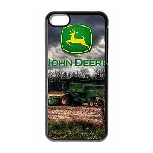 iPhone 5C Phone Case Black John Deere SF8602534