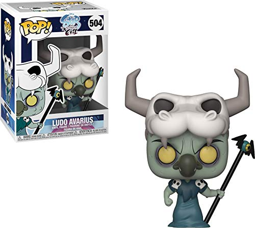 Funko 35771  Pop! Disney: Star Vs. Forces of EvilLudo, Multicolor