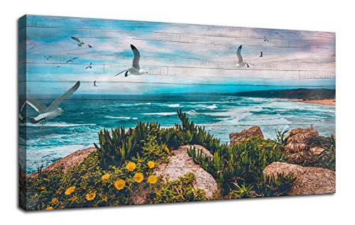Seascape Painting Landscape Peaceful Panoramic product image