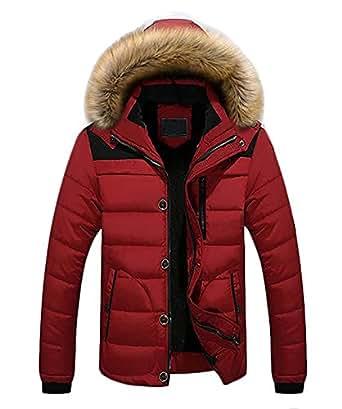 Amazon.com: Avenues Warmer Men Winter Warm Front Zip