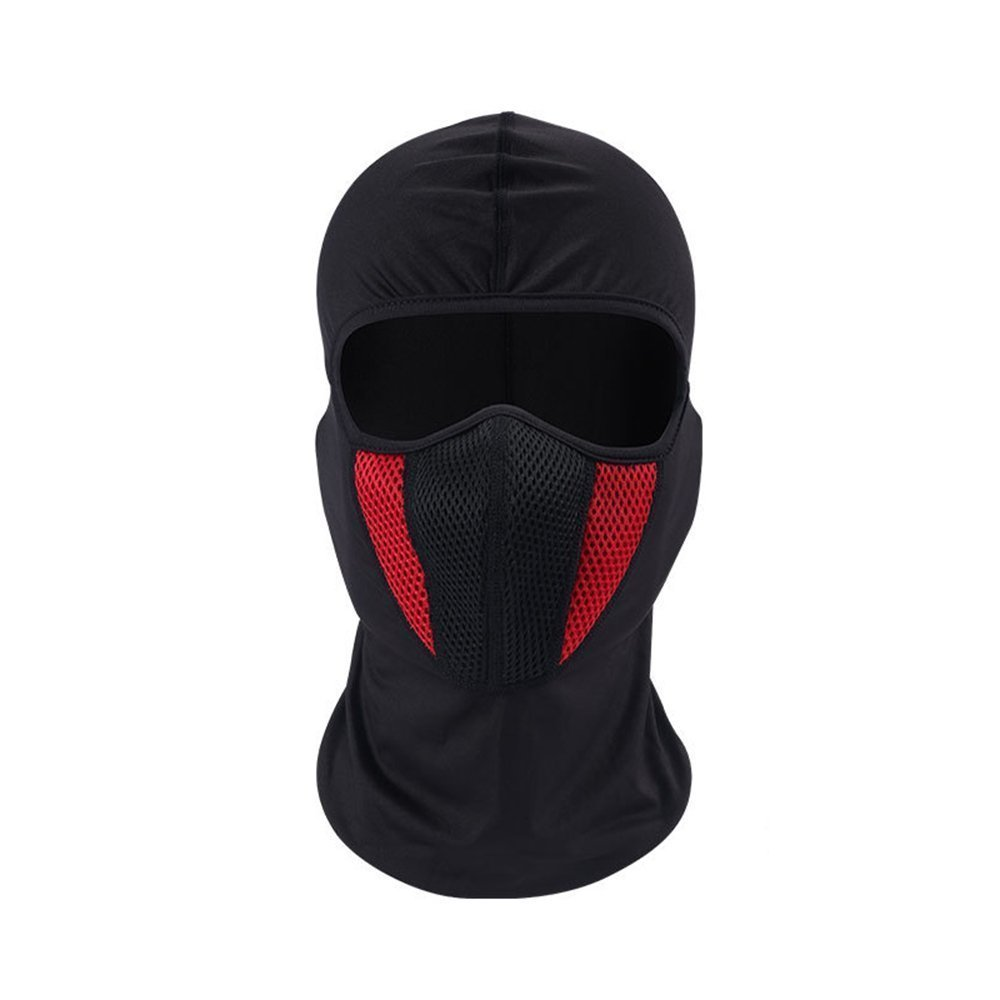 Windproof Face Mask, Cold Weather Ski Mask for Skiing Snowboarding Motorcycling Winter Sports Balaclava Hood,Motorcycle Ski Mask,Ultimate Thermal Retention in Outdoors GF